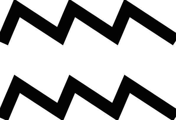 Aquarius Astrologer's chart Sign Symbol Zodiac Dou