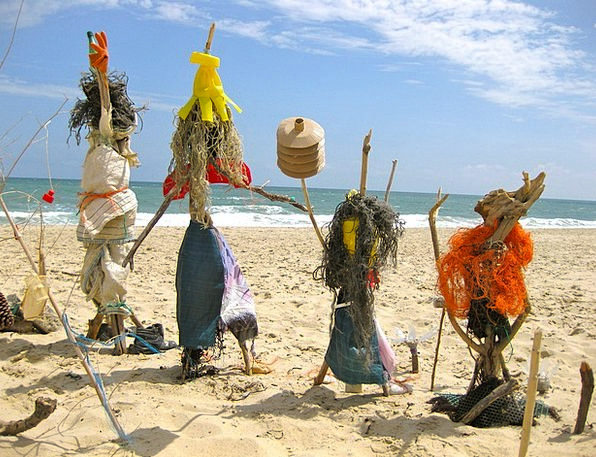 Beach Seashore Vacation Statistics Travel Scarecro