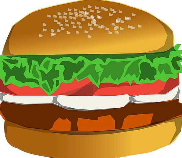 Hamburger Drink Food Food Nourishment Burger Delic