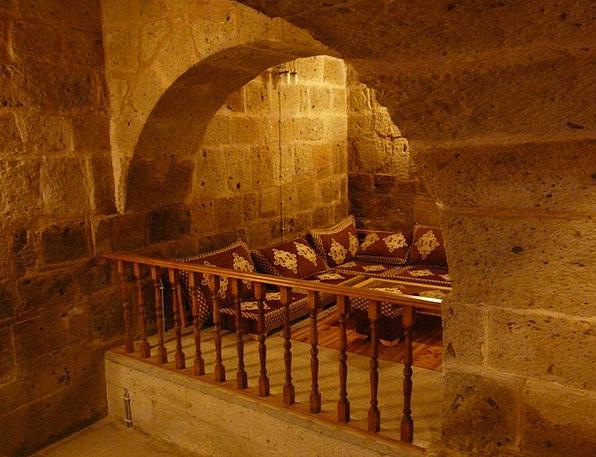 Caravanserai Shelter Interior Inner Hostel Orienta
