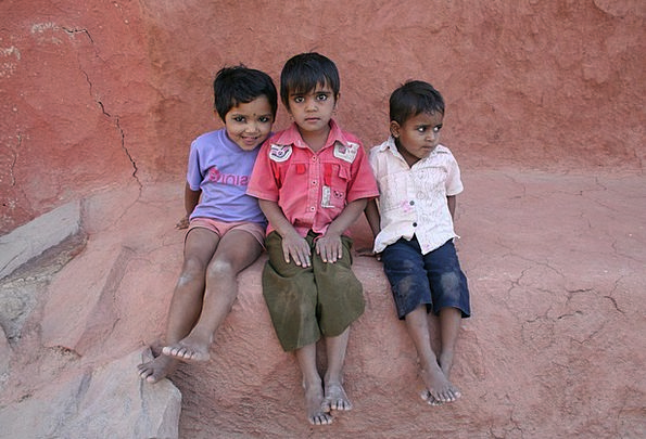 Children Broods Vacation Portable Travel Rajasthan