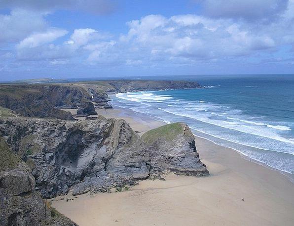 Coast Shore Sea Marine Cornwall Rocky Coast