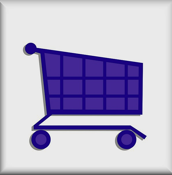 Cart Wagon Store Stock Grocery Free Vector Graphic