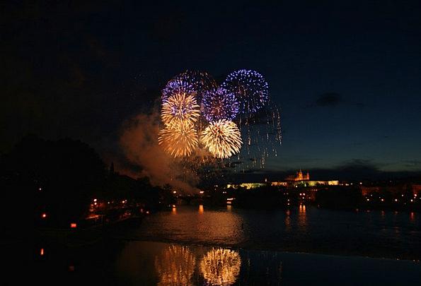 Fireworks Rockets New Year