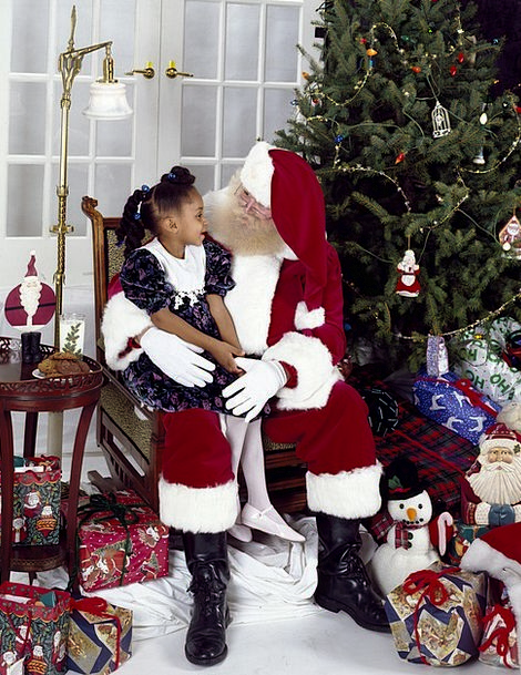 Santa Claus Youngster Christmas Child Childhood Ho