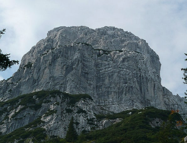 Totenkirchl Crags Alpine Mountainous Mountains Aus