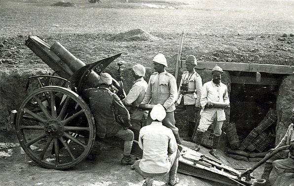 Howitzer Firearm Turkey Gun Attack World War I War