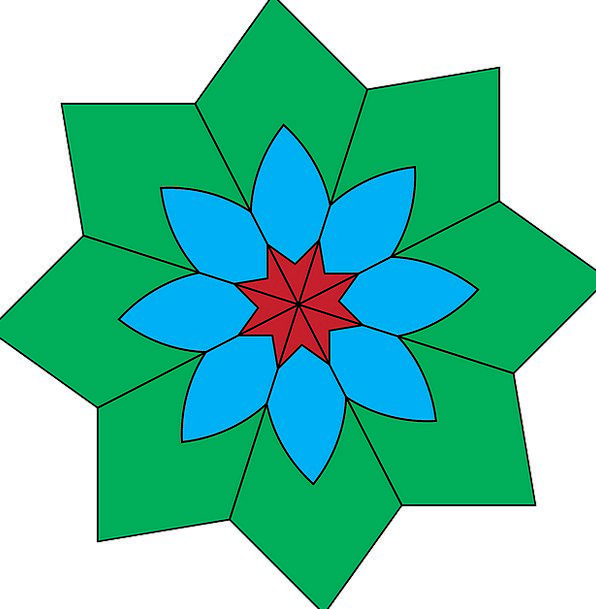 Origami Form Geometric Regular Shape Design Projec