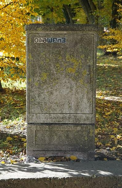Power Box Current Present Distribution Box Old Ene
