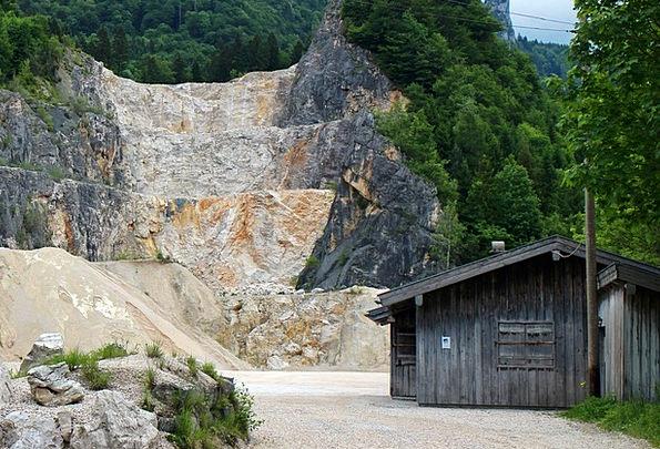 Quarry Pit Mining Stones Gravels Quarrying Crash B