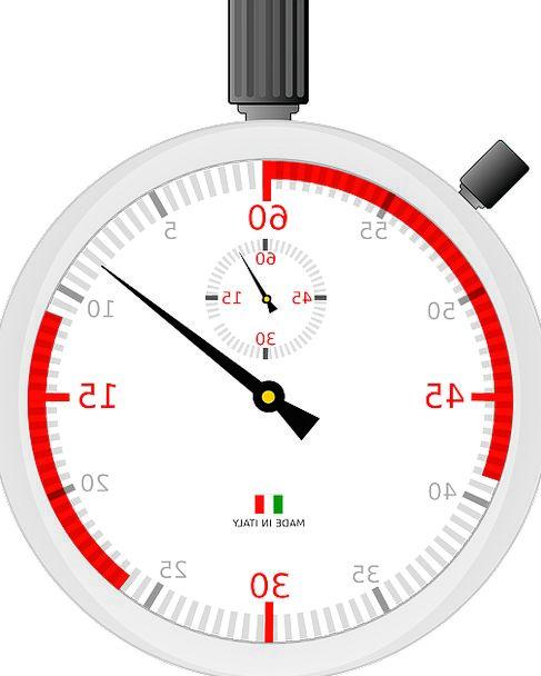 Stopwatch Regulator Clock Timepiece Timer Time Cou