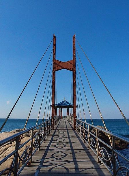 Sky Blue Marine Bridge Bond Sea Belvedere Winter S