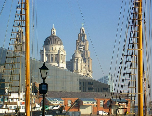 Liverpool Buildings Architecture Great Britain Eng