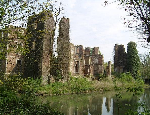 Ruin Devastation Buildings Structure Architecture