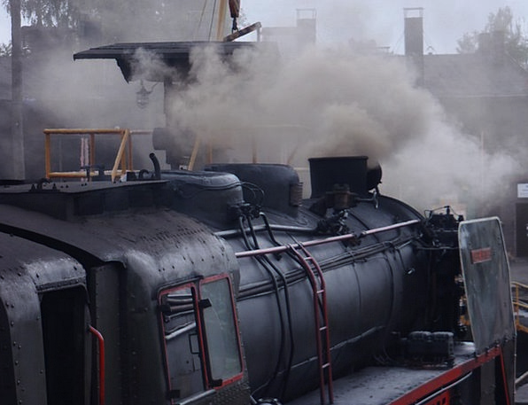 Train Pullman Locomotive Railway Steam Locomotive