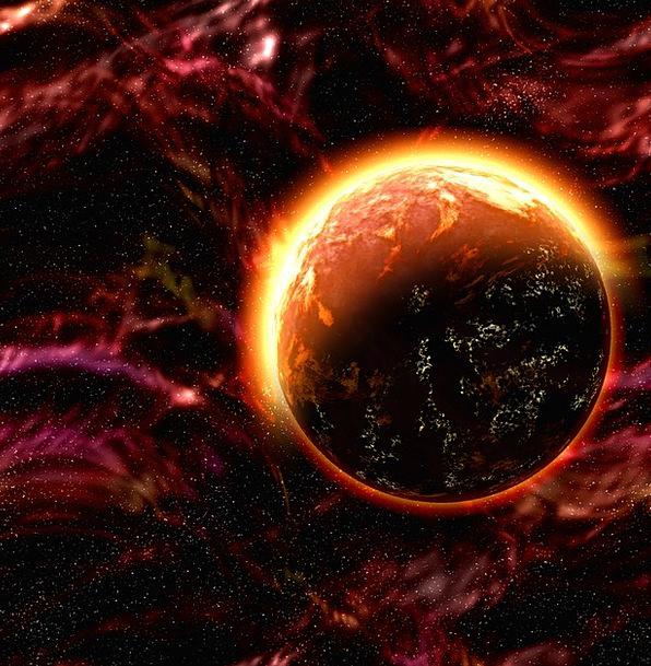 Space Interplanetary Earth Solar System Planet Fir