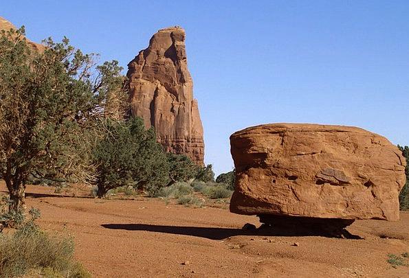 Monument Valley Landscapes Nature Usa Arizona Dese