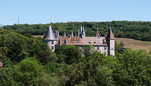 Castles Fortresses Fortress The Rochepot Castle Bu