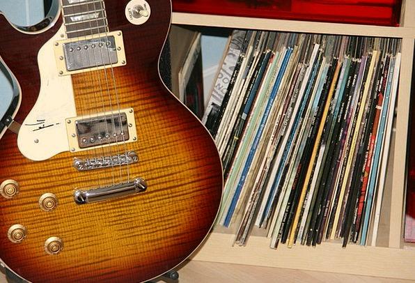 Guitar LPs Music Melody Vinyl