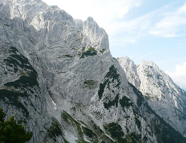 Predigstuhl Mountains Crags Totenkirchl Summit Wil