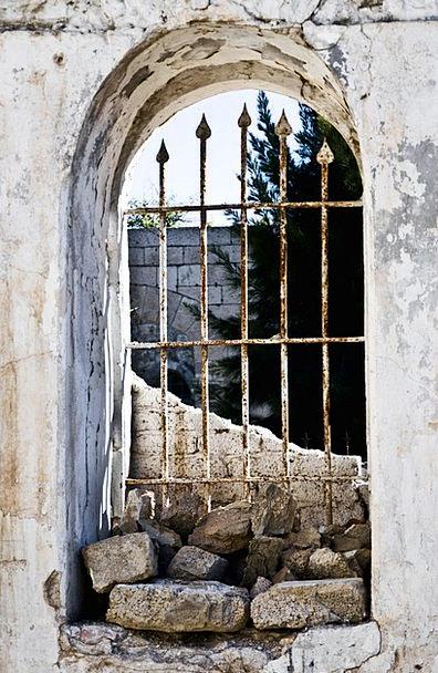 Windows Gaps Historic Important Old City Streets R