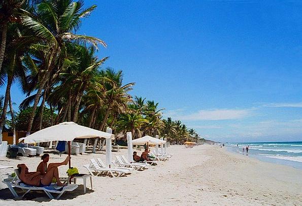 Venezuela Vacation Seashore Travel People Public B
