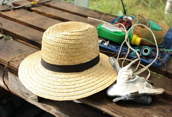 Garden Plot Cap Straw Hat Hat