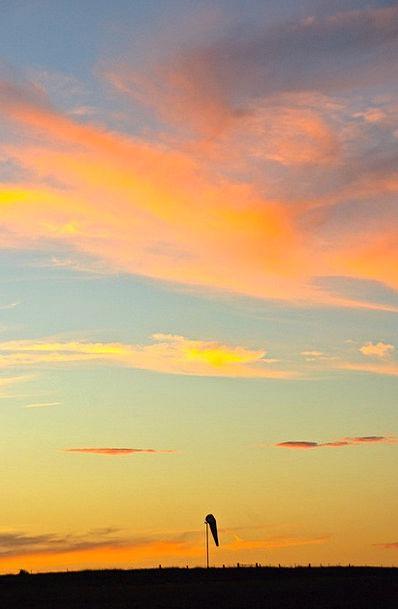 Sunset Sundown Vacation Blue Travel Sun Sky Scener