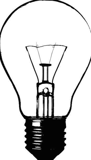 Lightbult Bulb Corm Electric Light Tungsten Light