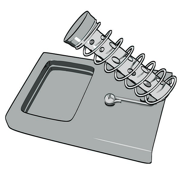 Soldering Iron Stand Tool Solder Fuse Soldering Ir