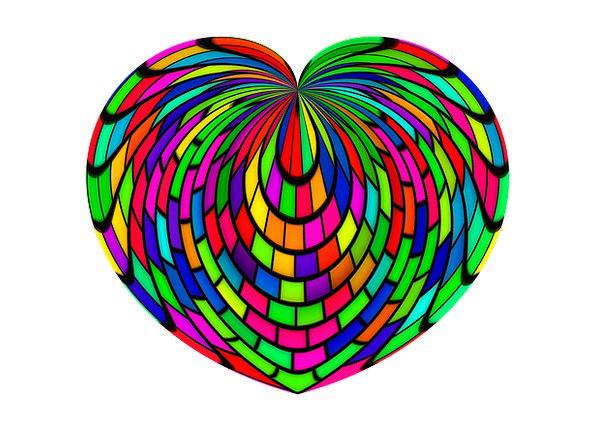 Heart Emotion Darling Luck Fluke Love Valentine'S