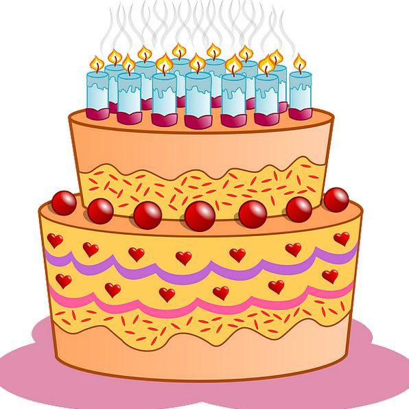 Birthday Birthdate Drink Bar Food Candles Tapers C