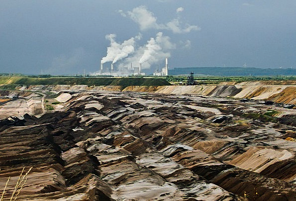 Brown Coal Craft Vigor Industry Garzweiler Energy