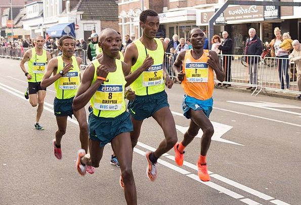 Marathon Lengthy Sprinters Exercise Runners Athlet