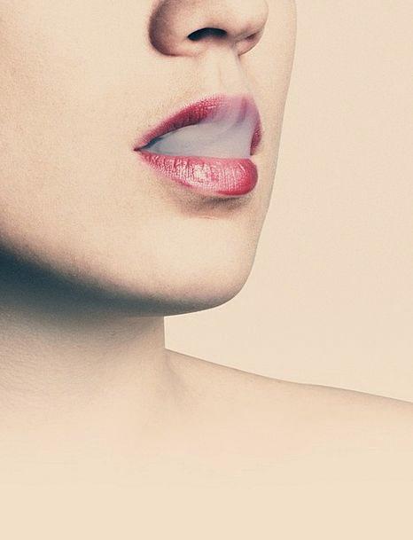 Lips Mouths Fashion Burn Beauty Female Feminine Sm