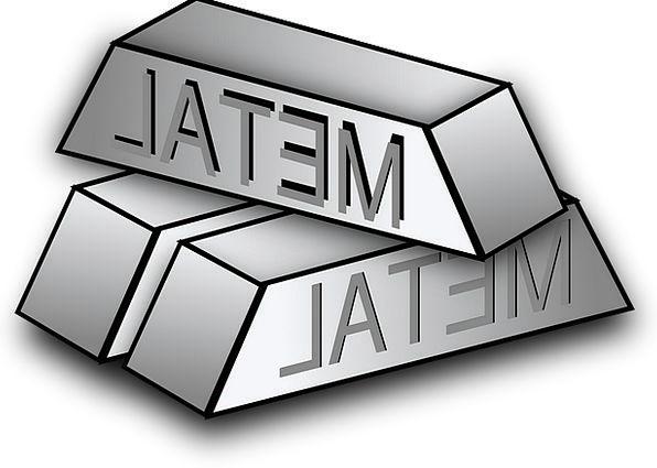 Metal Metallic Chunks Steel Strengthen Blocks Comm
