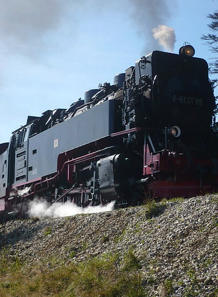Railway Mastic Locomotive Train Resin Steam Locomo