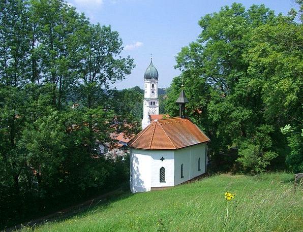 Linden Way Steeple Tower Zinkenbuechelkapelle Pari