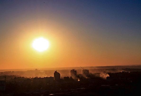 Voronezh Vacation Sundown Travel The Urban Landsca