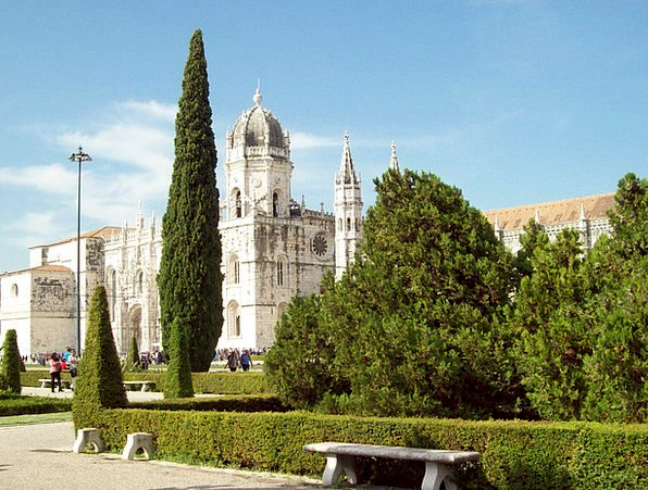 Cathedral Portugal Lisbon Historical Europe Archit