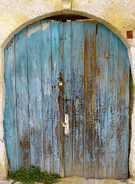 Door Entrance Goalmouth House Entrance Goal Painte
