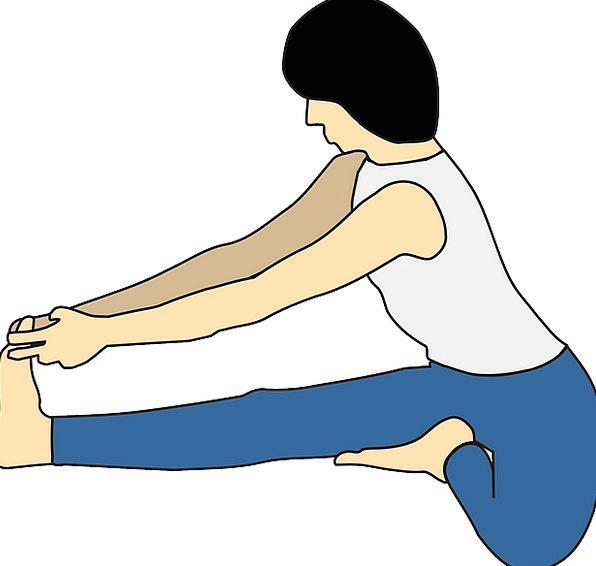 Yoga Fashion Lady Beauty Exercising Exercise Woman