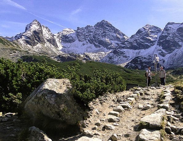 Polish Tatras Landscapes Nature The Stones Boulder