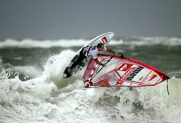 Wind Surfing Spray Surfing Surf Sylt Surfer Robby