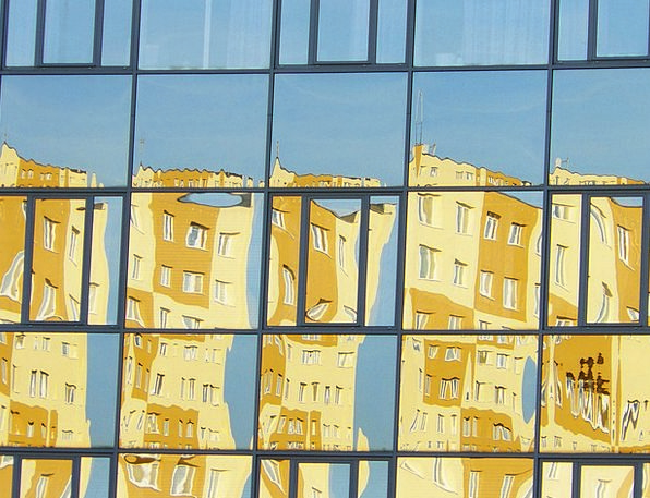 Windows Gaps Buildings Likeness Architecture Glass