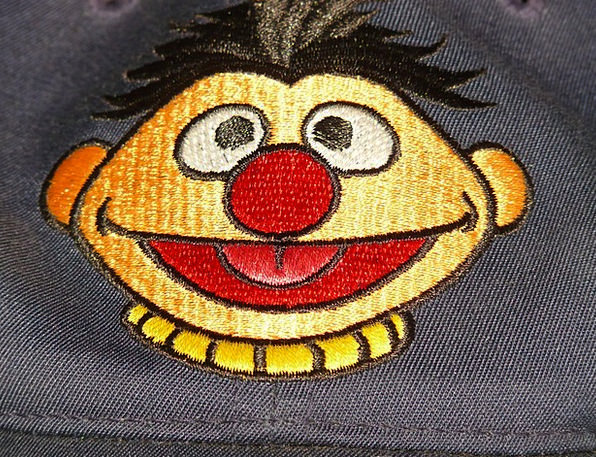 Ernie Cartoon Character Sesame Street Red Funny Hu