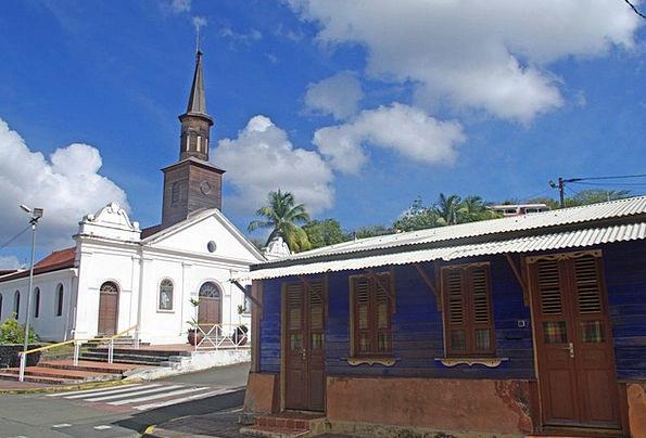 Martinique Ecclesiastical Box Container Church Dia