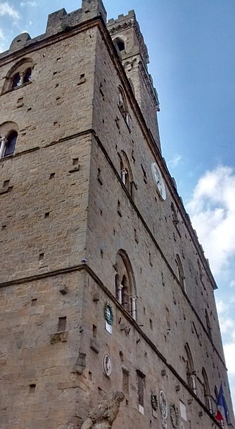 Volterra Buildings Architecture Palazzo Tuscany Ar