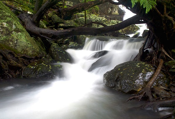 Waterfall Landscapes Nature River Long Exposure Fa