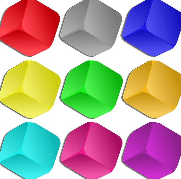 Cubes Dices Interesting Marbles Wits Colorful Game